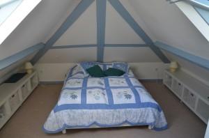 Chambre bleue maison gîte Etretat